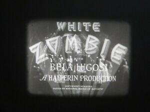 "16mm Feature Bela Lugosi horror classic "" White Zombie "" Nice original print"