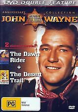 JOHN WAYNE - THE DAWN RIDER + THE DESERT TRAIL - BRAND NEW & SEALED DOUBLE DVD
