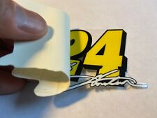 Jeff Gordon Number 24 inside Window Decals Stickers full color