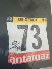 Dossard tour france Cycling Cyclisme