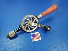 SoJo 2-01 VINTAGE CARPENTER'S WOODWORKING HAND DRILL COLLECTIBLE HAND TOOL LOT