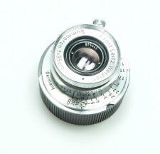 Leica Leitz Summaron 3.5cm 35mm 1:3.5 M39 LTM + Leica M