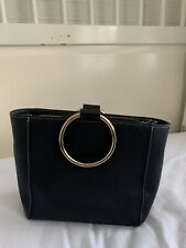 Mango small handbag with gold and detachable Strap