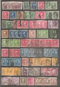UNITED STATES  1893-1999 -  ARE 1662 STAMPS  USED