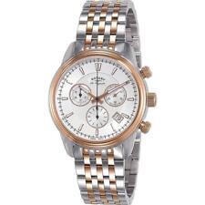 Reloj de pulsera Rotary GB90127/06 Hombre Cronógrafo de Mónaco Hecho en Suiza RRP £ 495