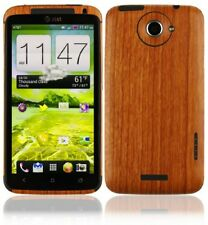 Skinomi Light Wood Full Body Skin+Screen Protector Cover for HTC One X (AT&T)