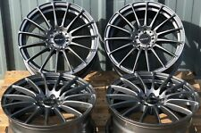 "ALLOY WHEELS X 4 17"" GM FORCE 5 FOR LAND ROVER FREELANDER DISCOVERY EVOQUE"