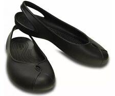 Women's Crocs Olivia II Flat Black Girls Crocs Brand New UK3 EU34-35 US5