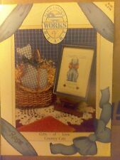 Alma Lynne's Cross Stitch Chart Leaflet Pattern Works of Heart Country Cats