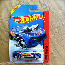2014 Hot Wheels TWINDUCTION 148/250 HW RACE diecast Mattel Treasure Hunt T Team