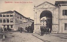 C1518) SLOVENIA, CAPODISTRIA (KOPER), ENTRATA ALLA PIAZZA DA PONTE.