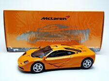 Minichamps 1994 Mc Laren F1 Street version Orange 1/18 Scale. New!