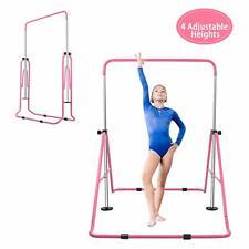 Gymnastic Bars Adjustable Kids Horizontal Training Kip Bar Children Home Gym
