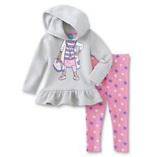Disney Doc McStuffins Girl Costume Sweatshirt Hoodie Top Legging Outfit/Set 4T