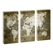 Weltkarte deko bilder drucke ebay for Weltkarte deko