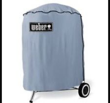 "Weber 8551 Grill Cover for 18.5"" Kettle Charcoal Barbecue Grills New Grey"
