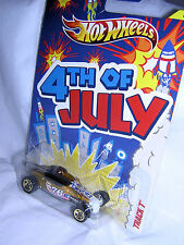 NEW Collectibles:  2012 Mattel Hot Wheels, TRACK  T # 2 of 5; 4th of JULY Series