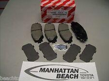 06-12 RAV4 4CYL W/O 3rd Row Seat Front Brake Pads Toyota Ceramic 04465-AZ018-TM