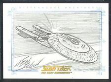 Quotable Star Trek TNG Sketch USS Enterprise-D v3 1:480
