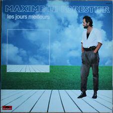 """MAXIME LE FORESTIER """"LES JOURS MEILLEURS""""   33T  LP"""