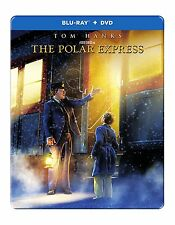 THE POLAR EXPRESS (STEELBOOK)  BLU RAY - Sealed Region free for UK