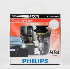 PHILIPS 9006 HB4 X-TREME VISION HALOGEN HEADLIGHT BULB  — 12V 55W (2PC)