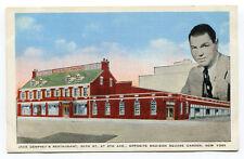AK Jack Dempsey Boxer Restaurant Madison Squer Garden New York
