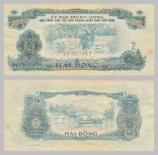Süd-Vietnam / South Vietnam 2 Dong 1963 pR5 vzgl.