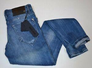 Pantaloni in Jeans Antony Morato don giovanni, stretto/strappato, con toppe