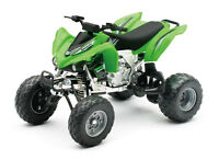 New Ray 1:12 Kawasaki KFX 450R Juguete Modelo Quad Atv Quadcross Off-Road