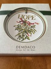 Demdaco Nature's Journey 3� Hope Mini Plate Ornament Marjolein Bastin 2010