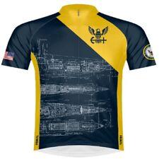 Primal Wear U.S. Navy Schematic  Men's Sport Cut Full Zip cycling Jersey