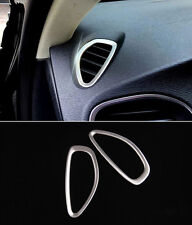 Stainless Steel Air Conditioning Outlet Frame Cover Trim For Volvo V40 2012-17