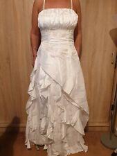 New White Prom dress, ball gown wedding dress size 12