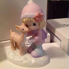 Precious Moments MERRY CHRISTMAS DEER Forest Holiday Figurine NIB 131011