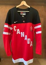 Team Canada 2014 IIHF Nike Jersey World Juniors 100th Mens Size Large L Red