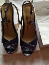 Ladies Shoes Marina Grey Size 5.