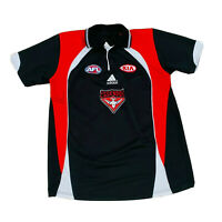 Essendon AFL Men's Signed Adam Saad #42 Polo Collared Shirt Size XXL