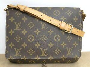LOUIS VUITTON Shoulder Bag Musette Tango Short M51257 Monogram 16180285300 K