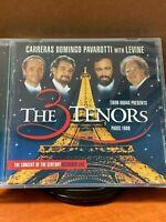 The Three Tenors, Paris 1998 (CD, Nov-1998, Decca) Brand New