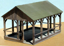 332 Open Sided Shed Kit for O Scale - O On3 On30 by Crow River