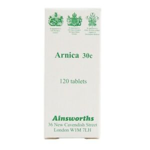 Ainsworths Arnica 30C Homoeopathic Remedy 120 Tablets