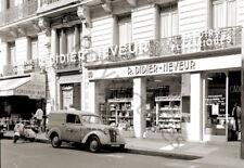 Paris Avenue Champs Elysées Boutique quincaillerie Repro photo ancienne an. 1960