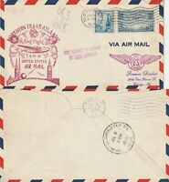 US 1939 PAN AM YANKEE CLIPPER FIRST FLIGHT US TO ENGLAND FAM 18 FLOWN COVER