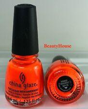 China Glaze Mini Nail Polish ORANGE KNOCKOUT 3.6ml = 0.125 fl oz Neons