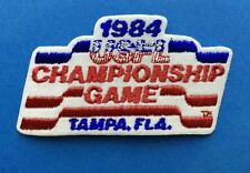 Rare Vintage 1984 USFL Championship Game Football Jacket Backpack Patch Crest