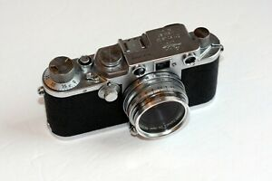 Leica IIIf Red Dial Rangefinder Camera Body Only-Clad in August - Nice & smooth!