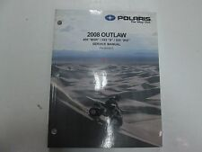 2008 Polaris Outlaw 450 MXR 525 S 525 IRS Service Shop Repair Manual NEW