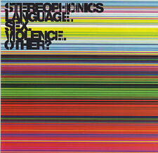 STEREOPHONICS / LANGUAGE,SEX,VIOLENCE,OTHERS ?