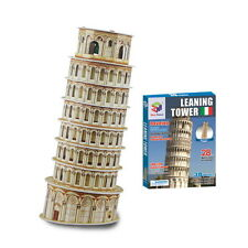 Educational 3D Puzzle Leaning Tower of Pisa(28pcs) Jigsaw Mini Model Diy Creativ